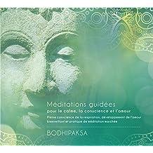 Méditations guidées pour le calme, la conscience et l'amour - Livre audio