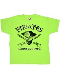 Refugeek Tees - Enfants Pirates Aarrgh Cool T Shirt