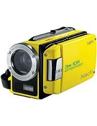 Sanyo Xacti WH1 Caméscope Numérique HD + Appareil photo Etanche 2 Mpix Zoom optique 30x Microphone Jaune