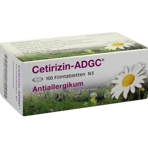 ADCG Cetirizin Tabletten, 100 St.