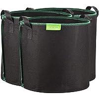 GardenMate® 3x Sacos para Plantas de Malla Geotextil 60L