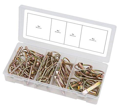 KS Tools 970.0550 Assortiment de 50 Goupilles clips pas cher