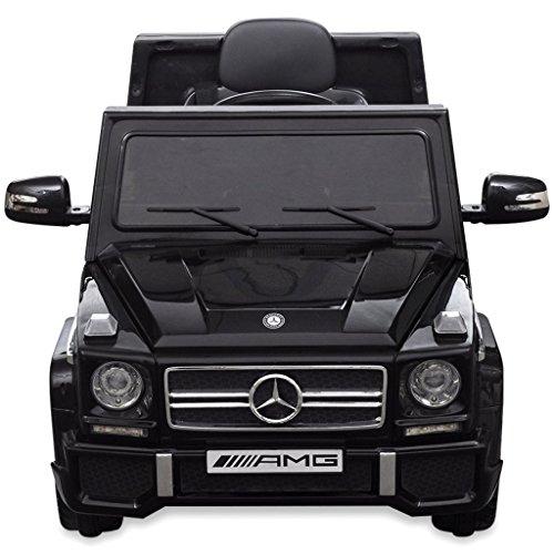 RC Auto kaufen Kinderauto Bild 4: vidaXL Kinderauto 2 Motoren 2x15W Schwarz Kinder Elektroauto Kinderfahrzeug*