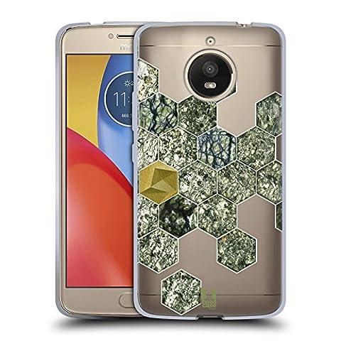 Head Case Designs Verhexen Steindruck Soft Gel Hülle für Motorola Moto E4 Plus