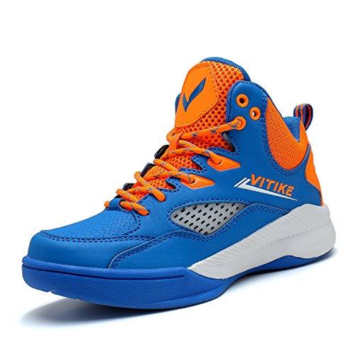 ASHION Jungen Basketballschuhe Turnschuhe Kinder Sportschuhe Herren Sneaker Laufschuhe Outdoor Schuhe - Schuhe Mädchen Baby 3 Größe High-tops
