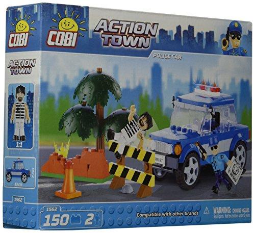 COBI Action Town Police Car Building Kit by COBI