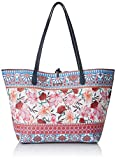 Desigual Aria Capri Shoulder Bag Turquesa TechnicDati:o Materiale: All'esterno polivinilcloruro 100%o Dimensioni: Larghezza di circa 49 cm, altezza circa 28 cm, profondità 12 cmo Colore: Turquesa Technic (blu / rosa / bianco)o Fabbricante: Desigual