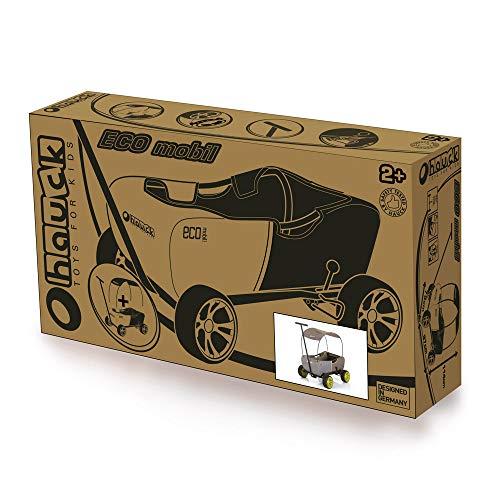 51GG6rD6uVL - Hauck - Carro Eco móvil para niños de 2 - 6 años, Color Verde (T93108)