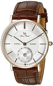 Lucien Piccard Hombre lp-40003-rg-02s-brw Taverna Rosa bañada en oro Acero inoxidable reloj de Lucien Piccard