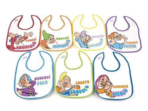 lulabi-disney-i-7-nani-confezione-da-7-bavaglini-in-cotone-con-strappo-multicolore