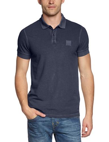 BOSS Casual Herren Poloshirt Pascha Blau (Dark Blue 402)