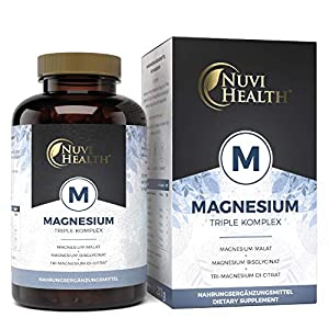 Magnesium Tabletten Nuvi Health Magnesium Komplex
