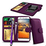N4U Online® Clip On PU Leather Wallet Case Cover & Pen For