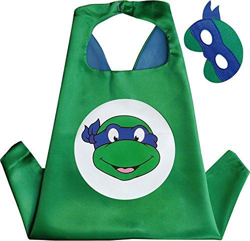 do Kindes Umhang & Maske (Teenage Mutant Ninja Turtles-kleid)