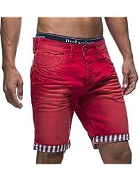 LEIF NELSON pour des Hommes Jeans Shorts LN1399-2826