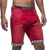 LEIF NELSON Herren Jeans Shorts LN1399-2826; W32