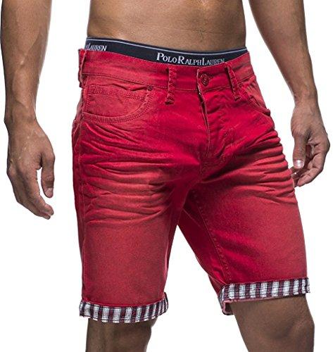 LEIF NELSON Herren Jeans Shorts LN1399-2826; W29 -