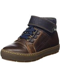 Gorila 49301, Chaussures bateau pour garçon - bleu - bleu, 35 EU