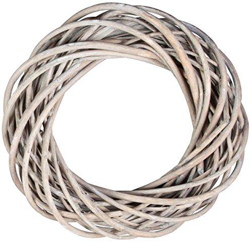 MICA Living Dekokranz - aus grauer Spaltweide - verschiedene Größen 35 cm
