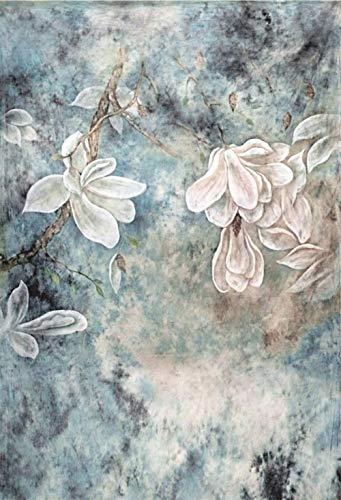 nd,Alte Blumen, Die Fotografie-Studio-Hintergründe Malen Kundengebundene Fotografische Hintergründe Für Foto @ Thin_Cloth_150X220Cm ()