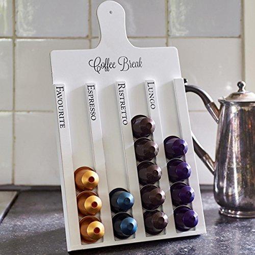 Riviera Maison - Kaffeekapselspender, Kaffeekapselhalter, Kaffeekapselständer - Holz - für bis zu...