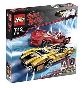 LEGO Speed Racer 8159: Racer X & Taejo Togokhan