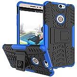 Coolpad Max Hülle, CaseFirst Stoßfest Hybrid Combo Handytasche Anti-kratzer TPU + PC 2 in 1 Handyhülle Anti-Rutsch Schutzhülle Schutz Shockproof Case Cover (Blau)
