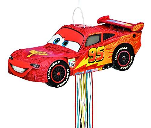 Image of Disney Cars Pinata, Shaped Pull String