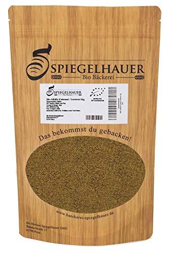 Bio Alfalfa Luzerne Keimsaat - Sprossensamen für die Zucht von Alfalfasprossen - der natürliche Energiespender - lecker in Salaten - Inhalt: 1 kg Alfalfa Samen -