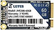 LEVEN SATA III 6GB/S mSATA SSD Solid State Drive- (JMS300-60GB)