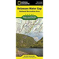 Delaware Water Gap National Recreation Area (National Geographic Trails Illustrated Map) by National Geographic Maps - Trails Illustrated