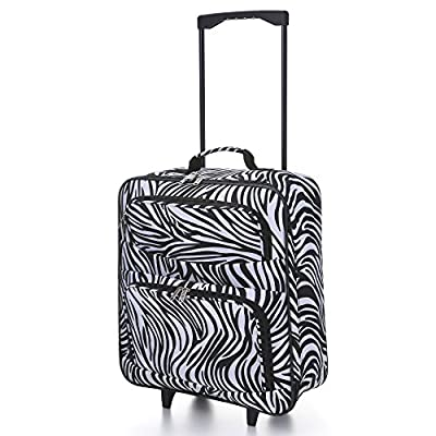 5 Cities Foldaway Lightweight Hand Luggage Suitcase by 5 Cities