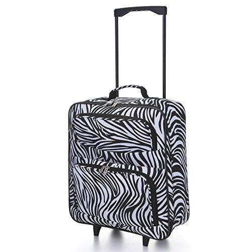 5 Cities – Maleta Unisex, Zebra (Varios colores) – FOLDCASE01-855