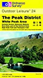 The Peak District: White Peak Area (Explorer Maps)
