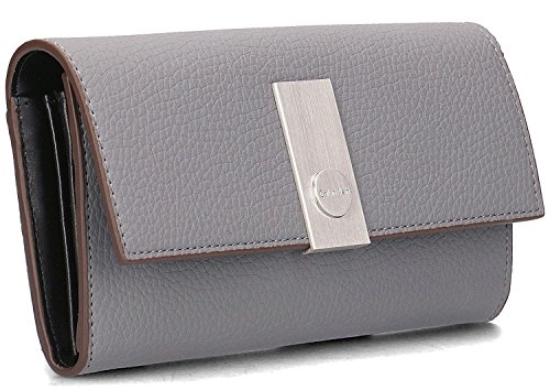 WALLET CALVIN KLEIN CARRIE LARGE TRIFOLD K60K603606 GRAU (Kleine Wallet Tri-fold)