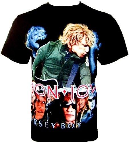 bon-jovi-t-shirt-mersey-boy-fanshirt-noir-black-m