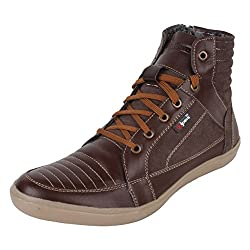 Guava Leather Boots - Brown