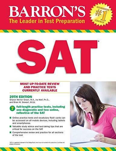 Barron's SAT with Online Tests por Sharon Green