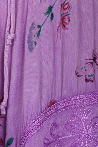 Sakkas Robe Style Corsage Fairy Maiden Pourpre