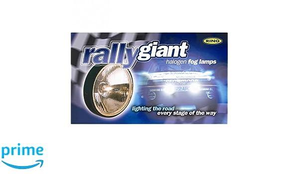 Ring Automotive Rally-Leuchten mit Abdeckung RL030C rund riesig