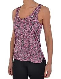 Slazenger - Camiseta sin mangas - Cuello redondo - Manga Corta - para mujer