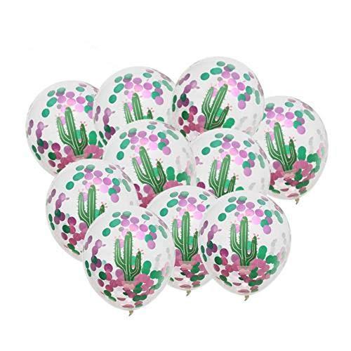 uftballons Schmücken Flamingo Turtle Leaf Kaktus Ananas Konfetti Ballon Tropical Hawaii Party Dekoration, Party, Geburtstag ()