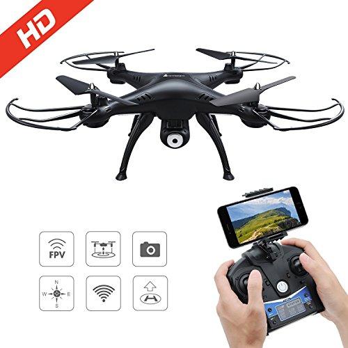 AMZtronics Drone con TeleCámara 720P HD Camera...