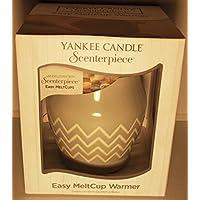 Yankee Candle 1347025Melt, Coppa in ceramica, 15,5x 15x 15,5cm, colore: azzurro/bianco