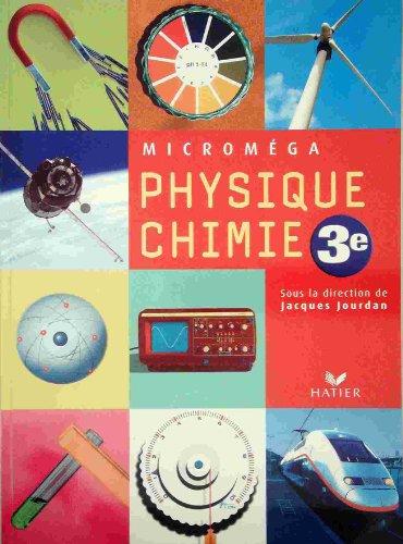 Micromega - Physique Chimie Troisième, Livre de l'Eleve Version Enseignant avec DVD Demonstration