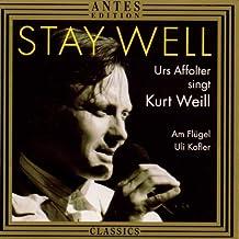 Stay Well - Urs Affolter singt Kurt Weill