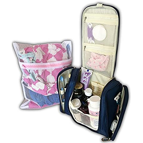 Portable Toiletry Bag - Travel Kit for