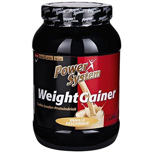 Power System - Proteinpulver Vanille - - Gainer Protein Bars Weight