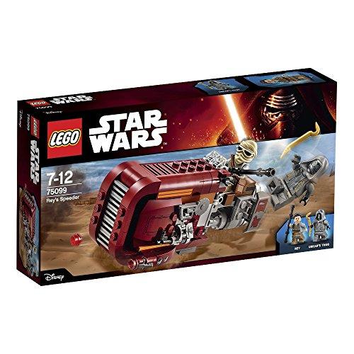 LEGO Star Wars 75099 - Rey's Speeder (Wars Lego Star Buch-tasche)
