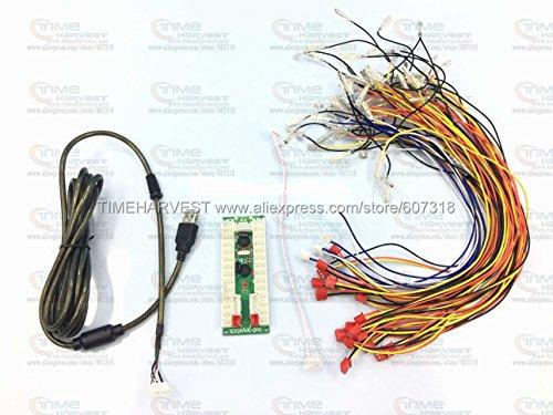 Kostenloser Versand by Post PC PS-3zu Arcade Controller 2Player USB Adapter Arcade Kontrollen USB Adapter + Verkabelung USB Jamma contronls Board